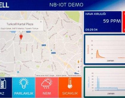 Turkcell'den Akıllı Şehir Teknolojisi (IoT)