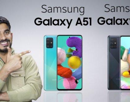 Samsung Galaxy A51 ve Galaxy A71 Satışa Çıktı!