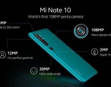 108 Megapixellik Canavar Xiaomi Mi Note 10