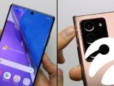 Galaxy Note 20 ve Galaxy Note 20 Ultra, Düşürme Testinde