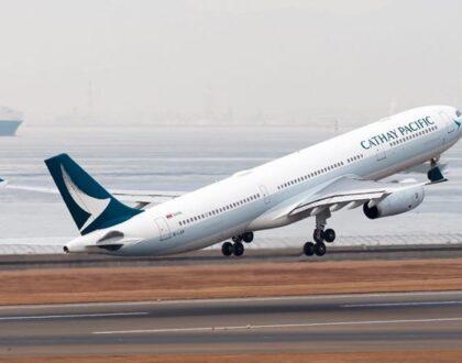 Cathay Pacific Havayolları, 8 bin 500 konumu kapatıyor